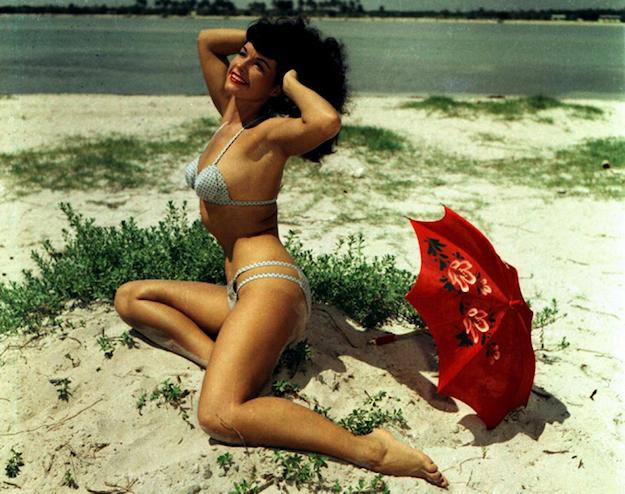 У стилі pin-up: 10 образів Бетті Пейдж