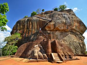 Сигирия – львиная скала на Шри-Ланке
