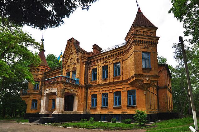5 удивительных дворцов Украины (фото)