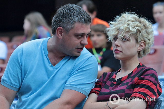 Тіна Кароль та Євген Огір