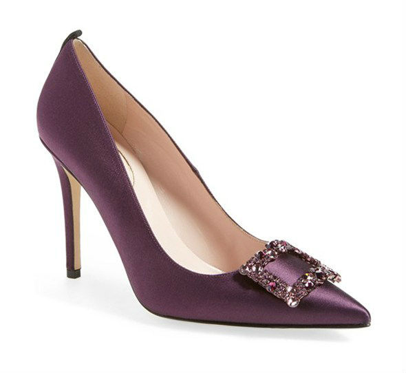 Сара Джессика Паркер представила коллекцию свадебных туфель
