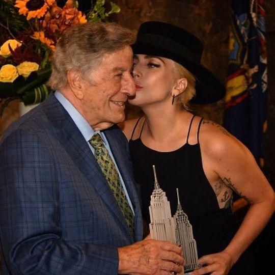 Тоні Беннетт і Леді Гага
