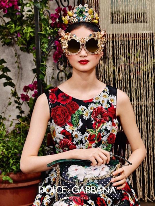 Колекція сонцезахисних окулярів Dolce & Gabbana SS 2016