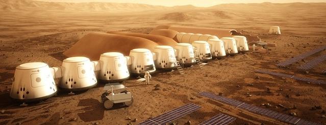 Колония на Марсе: проект MarsOne
