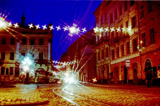 Рыночная площадь Львов