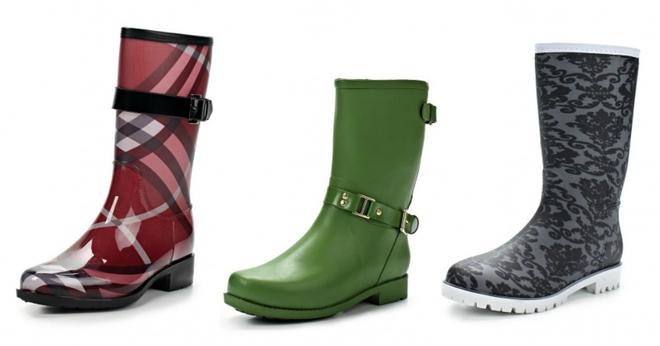 Тренди 2016: вибираємо гумові чоботи