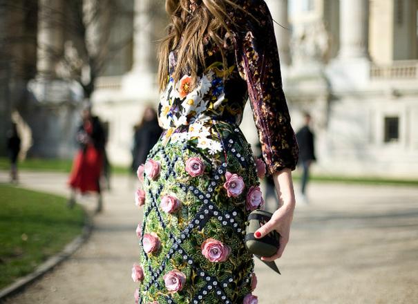 Мода весна-літо 2016: квітковий принт