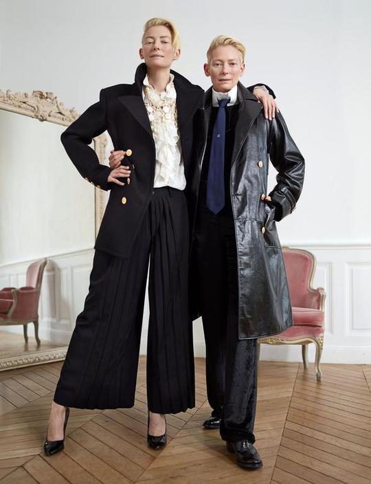 Альтер его: Тільда Суїнтон у зйомці Madame Figaro