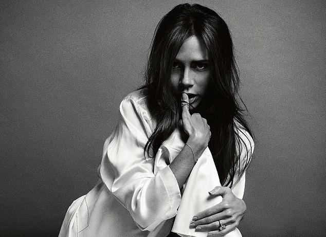 Вікторія Бекхем в зйомці Vogue China