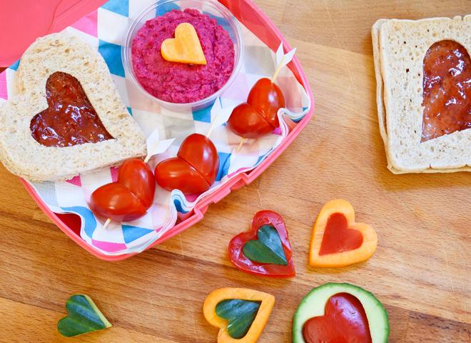 Рецепти для дітей: серцевий ланч-бокс