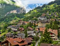 5 самых живописных поселков: Венген, Швейцария
