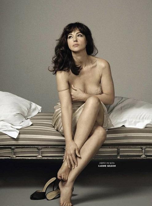 Моніка Беллуччі на обкладинці GQ Magazine (Italia)