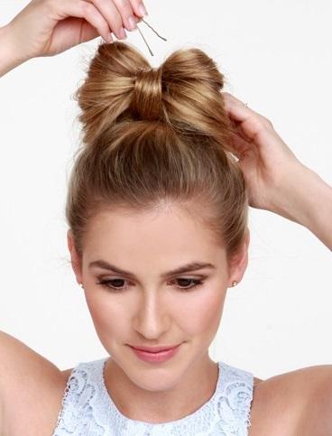 Б'юті-урок: як створити бант з волосся