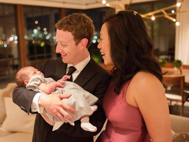 Дочь Марка Цукерберга