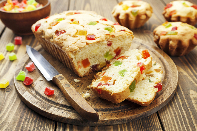 Пісна випічка: рецепти фруктових кексів