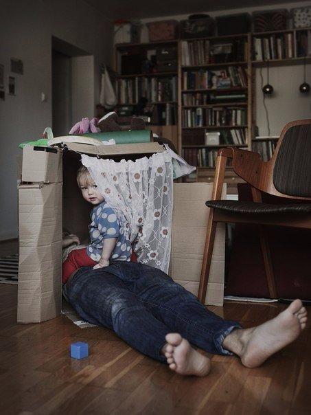 Що трапляється, коли в декрет іде тато (фото)