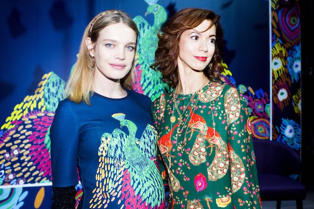 Наталія Водянова презентувала нову колекцію одягу