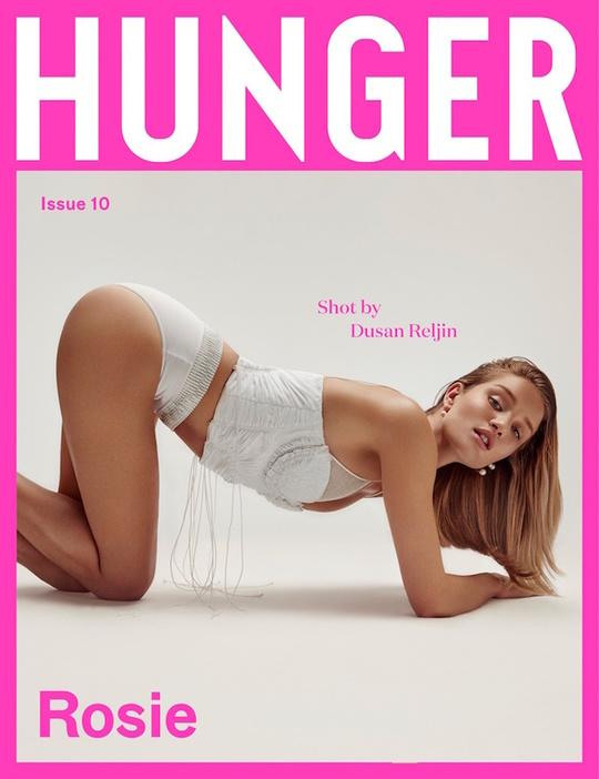 Роузі Хантінгтон-Вайтлі у зйомці журналу Hunger