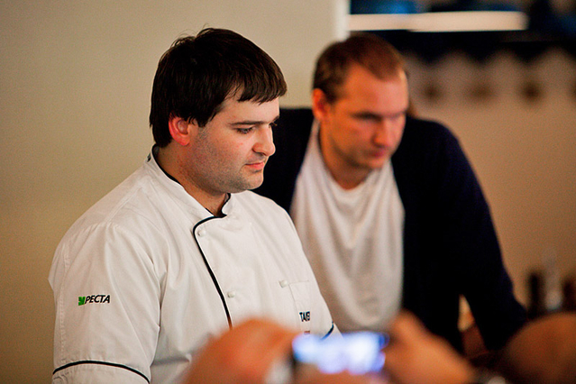 "Шеф-повар ресторана ""Тавернетта"" Андрей Величко"