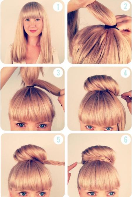5 зачісок, які можна зробити за 5 хвилин