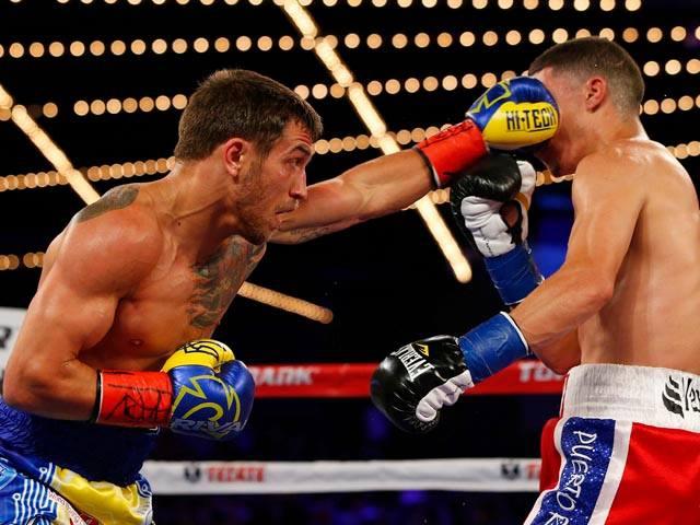 Український боксер Василь Ломаченко завоював пояс чемпіона світу