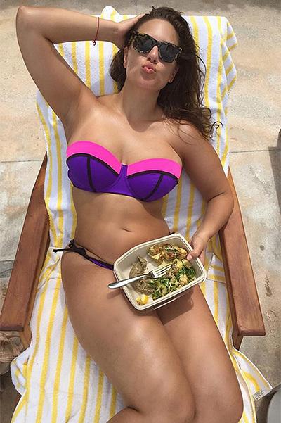 Краса з плюсом: Plus-Size модель Ешлі Грем розповіла, як полюбила себе