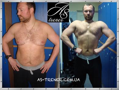 До и после тренировок фото: