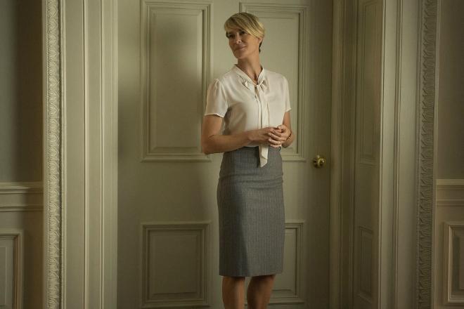 Вдягнутися як Клер Андервуд