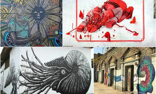 Стрит-арт со всего мира