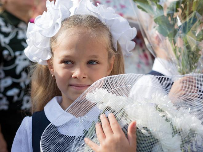 1 вересня 2016 року: привітання російською та українською мовою