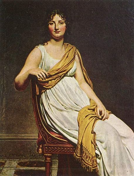 """Портрет мадам де Вернинак"" Давида, 1799 год"