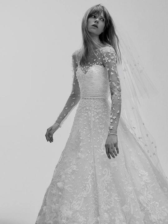 Elie Saab представив свою першу весільну колекцію