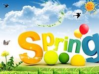 Позитивная открытка с весной