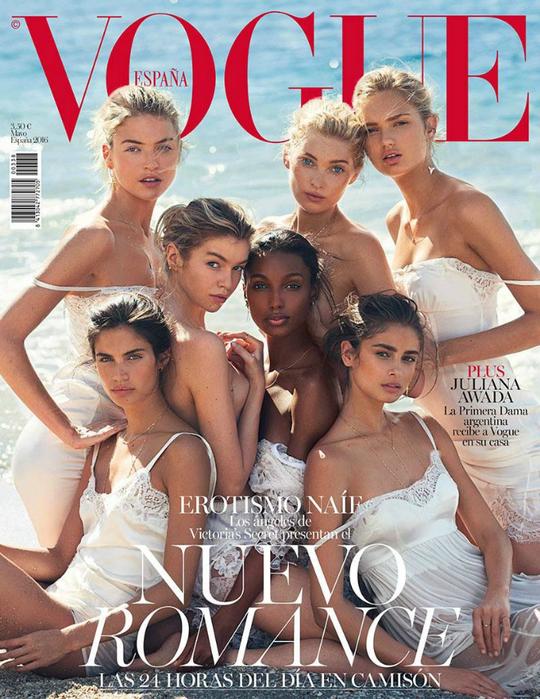 Ангелы Victoria's Secret для Vogue Spain
