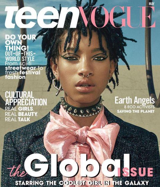 Віллоу Сміт знялась для обкладинки журналу Teen Vogue