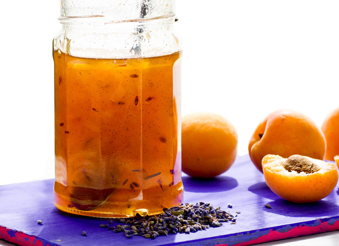 Абрикосовий джем: рецепт з лавандою
