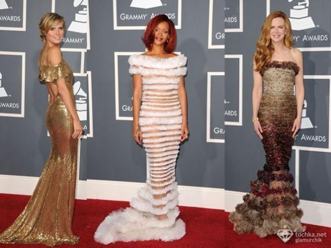 Самые красивые платья Grammy Awards 2011.