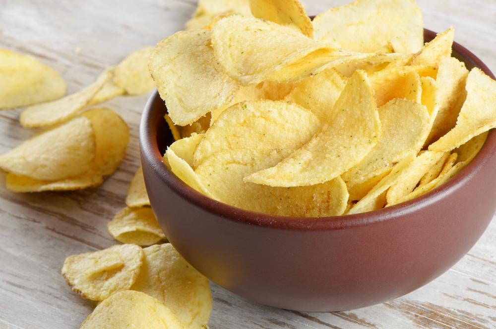 Чіпси в мікрохвильовці з картоплі - рецепт в домашніх умовах