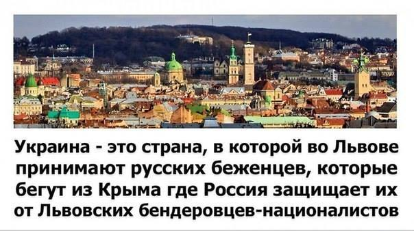 Картинка про Украину и Россию