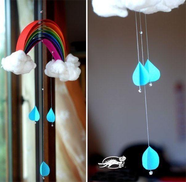 Делаем радугу для малыша