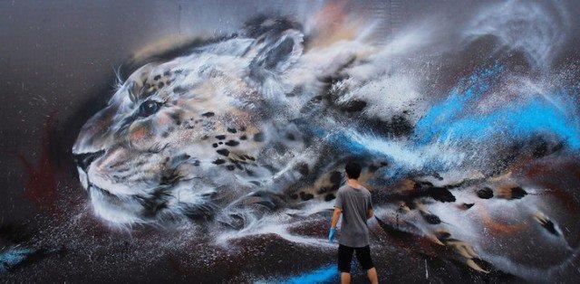 Невероятный шедевр уличного художника Chen Yingjie