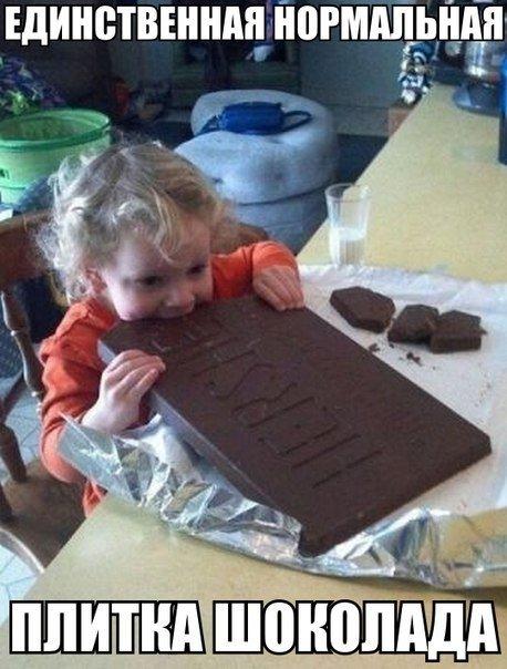 Единственная нормальная шоколадка