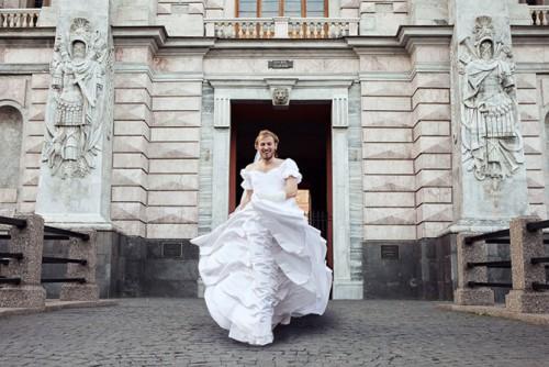 Нестандартная невеста