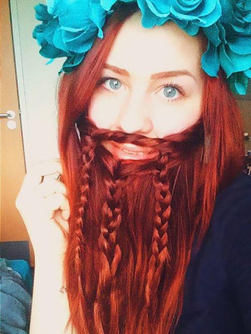 Девушки с бородой