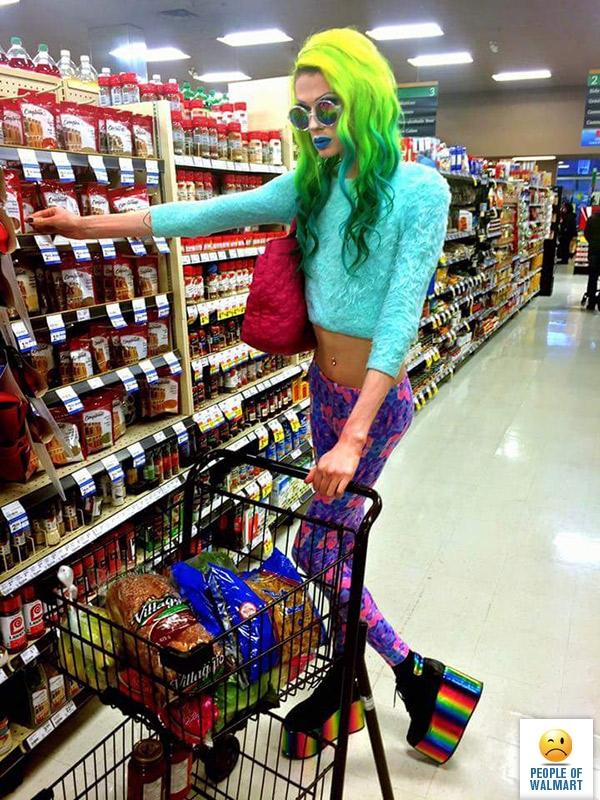 Модники из супермаркетов