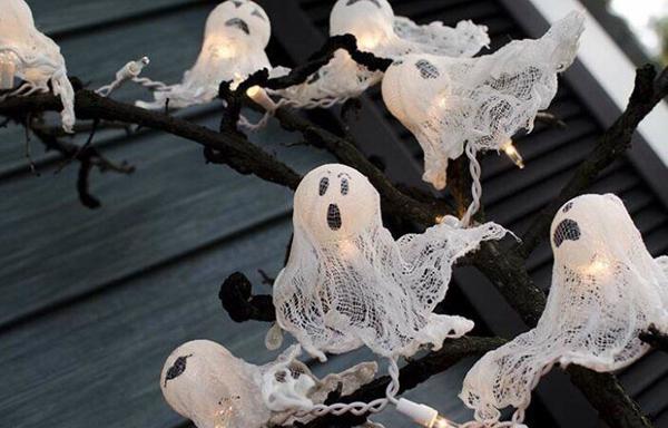 Милые привидения своими руками