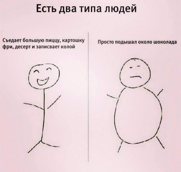 Есть два типа людей
