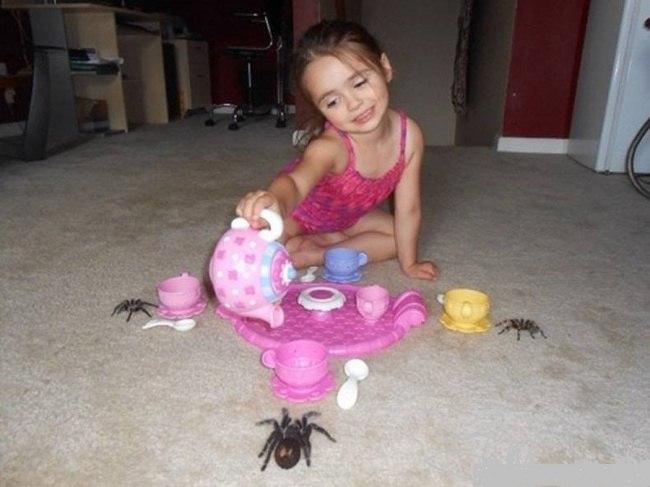 Дети — очень странные существа