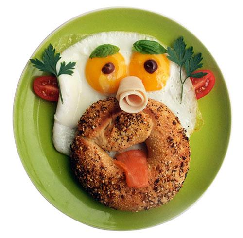картинки завтрак прикольные