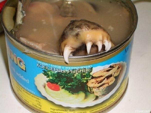 Консерва рыбная - Лохнесское чудовище